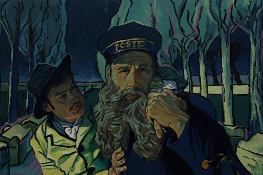 « LA PASSION VAN GOGH », QUAND LE FILM D'ANIMATION CONFERE AU SUBLIME
