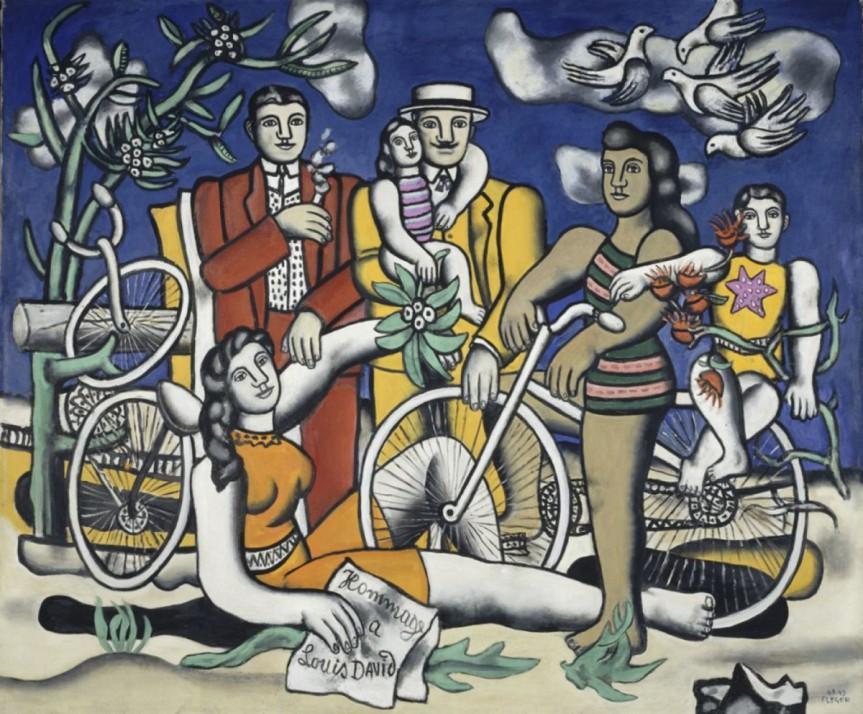 «LE BEAU EST PARTOUT» : FERNAND LEGER A BOZAR,BRUXELLES