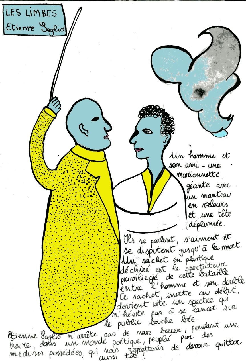 LA REVUE DESSINEE : «LES LIMBES», ETIENNE SAGLIO, AUROND-POINT