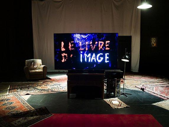 JEAN-LUC GODARD , «LE LIVRE D'IMAGE» : DANSONS MAINTENANT, JUSQU'A LACHUTE