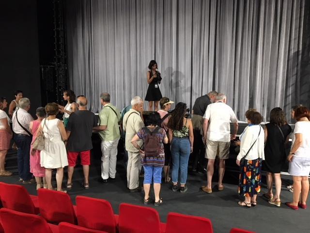 """FESTIVAL D'AVIGNON : VISITE TACTILE DE """"L'AMOUR VAINQUEUR"""""""