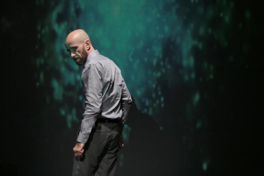 «LE HORLA» : DAMIEN REMY DANS UNE SUPERBE PERFORMANCED'ACTEUR